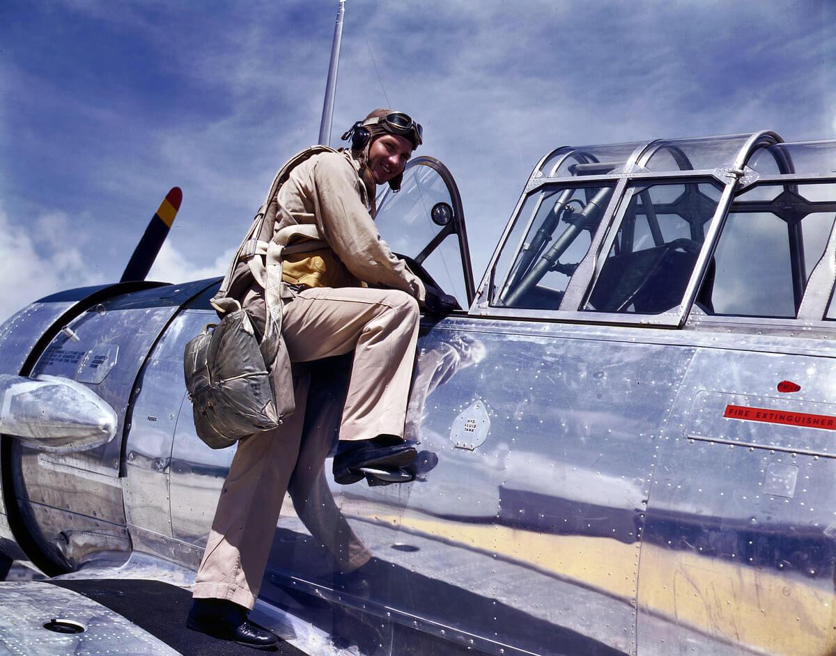 repülőgép, amerikai pilóta